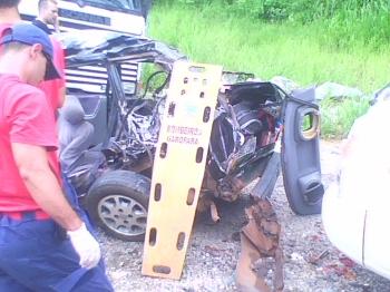 Acidente envolveu sete veículos no Morro do Agudo