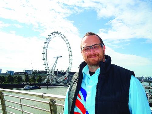 London Eye roda gigante Londres