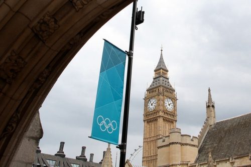 Big Ben Londres Olimpíadas