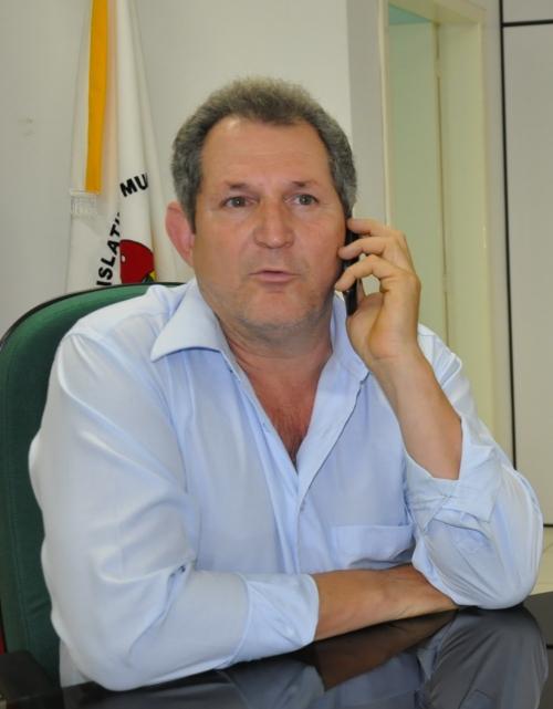 O Vice prefeito Adacir Araldi assume os trabalhos definitivamente até 31 de dezembro