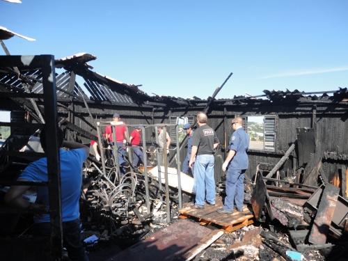Duas crianças morrem queimadas em incêndio em Xanxerê