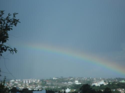 Arco-íris aparece em Xanxerê
