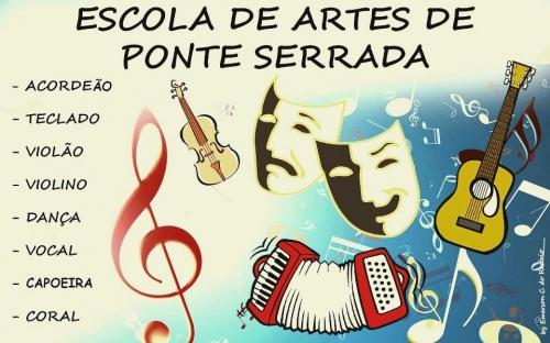 Cursos culturais gratuitos em Ponte Serrada