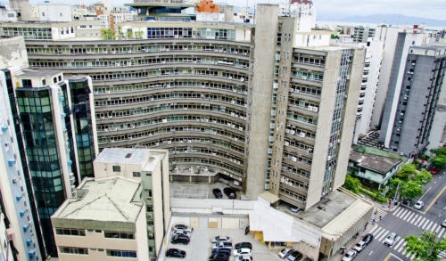 Ceisa Center Florianópolis prédio edifício