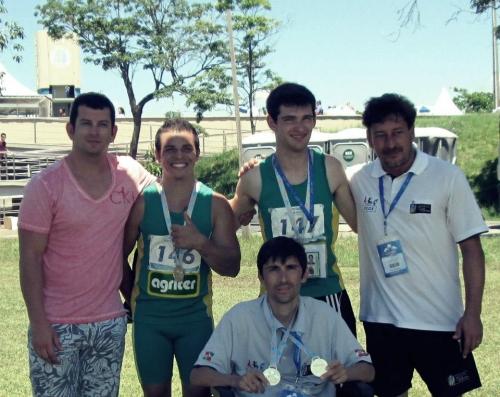 Paratletas de Xanxerê participam de competição no Rio de Janeiro
