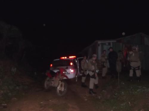 Jovem é preso em Ponte Serrada