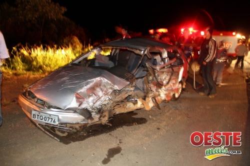 Motorista morre em acidente em Ponte Serrada