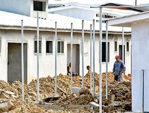 Case de São José em obras