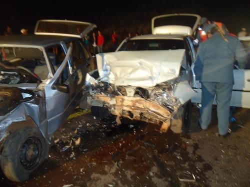 Vítimas de grave acidente em Ouro Verde permanecem internadas