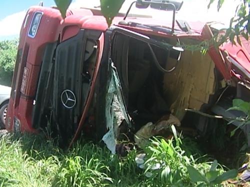 Vítimas de grave acidente na BR-282 seguem internados no hospital de Xanxerê
