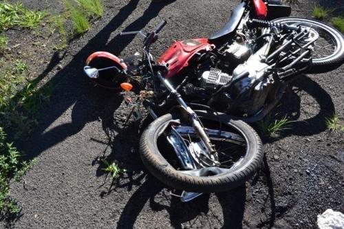 Motociclista morre depois de acidente na SC-155 em Ouro Verde