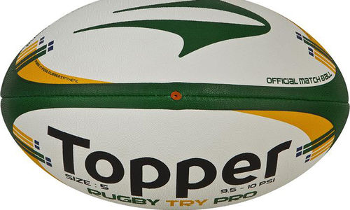 343e70a72ff3b Topper lança nova bola de rugby no Campeonato Sul-Americano