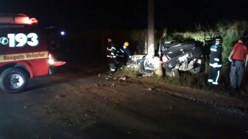 a8dce02de3a Motorista morre em acidente na avenida Santos Dumont