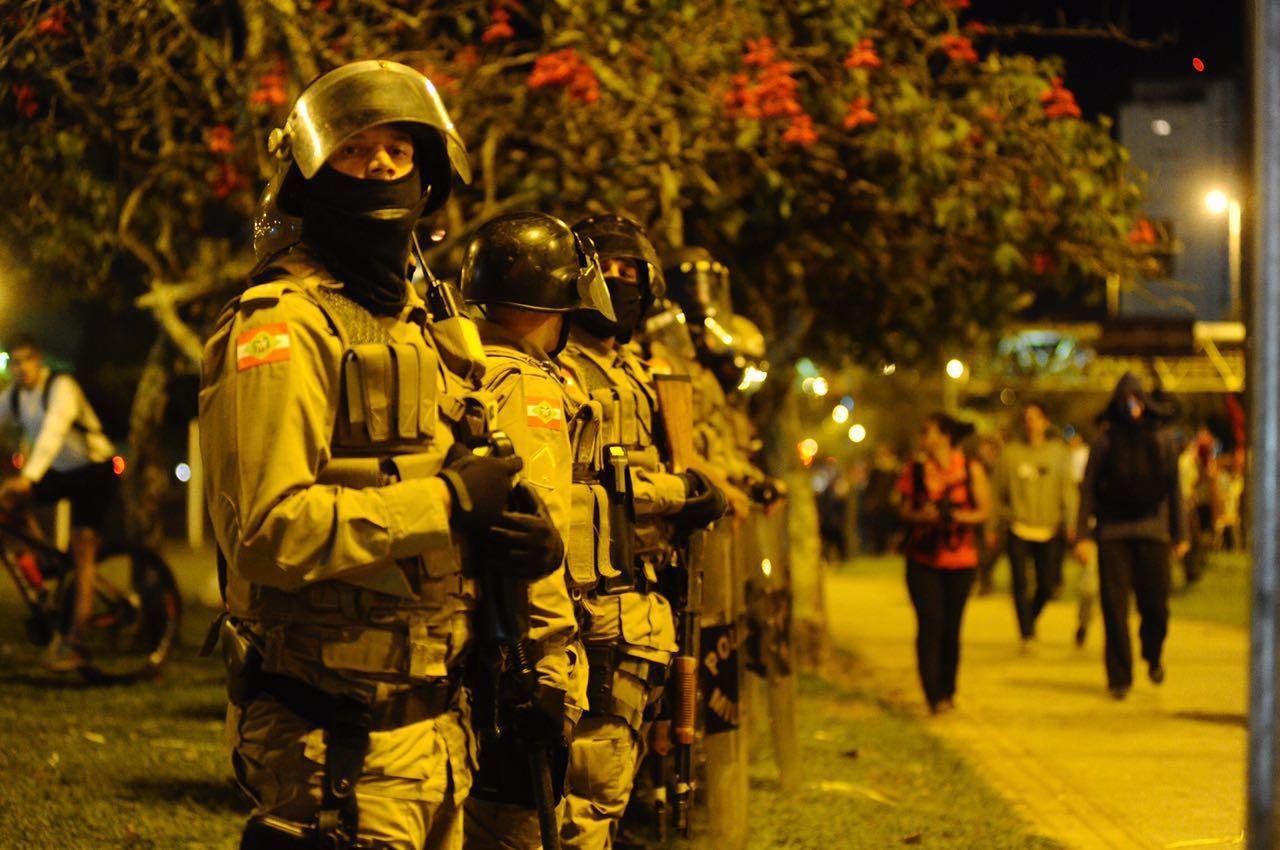 PM reforçou policiamento na área do Rita Maria e do Ticen - Eduardo Valente/ND