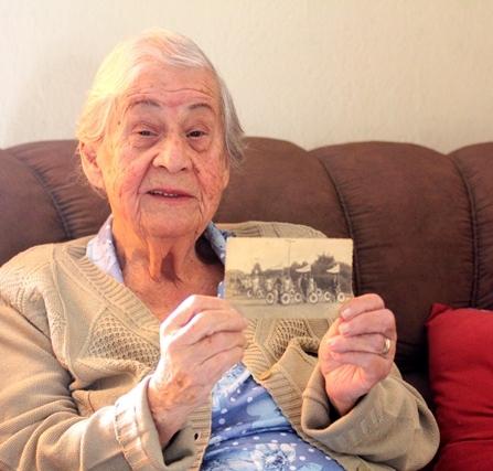Jacy Lemus da Costa, 87 anos, conta que em 1945, então com 16 anos, adquiriu sua primeira bicicleta, uma Monark - Fabrício Porto/ND