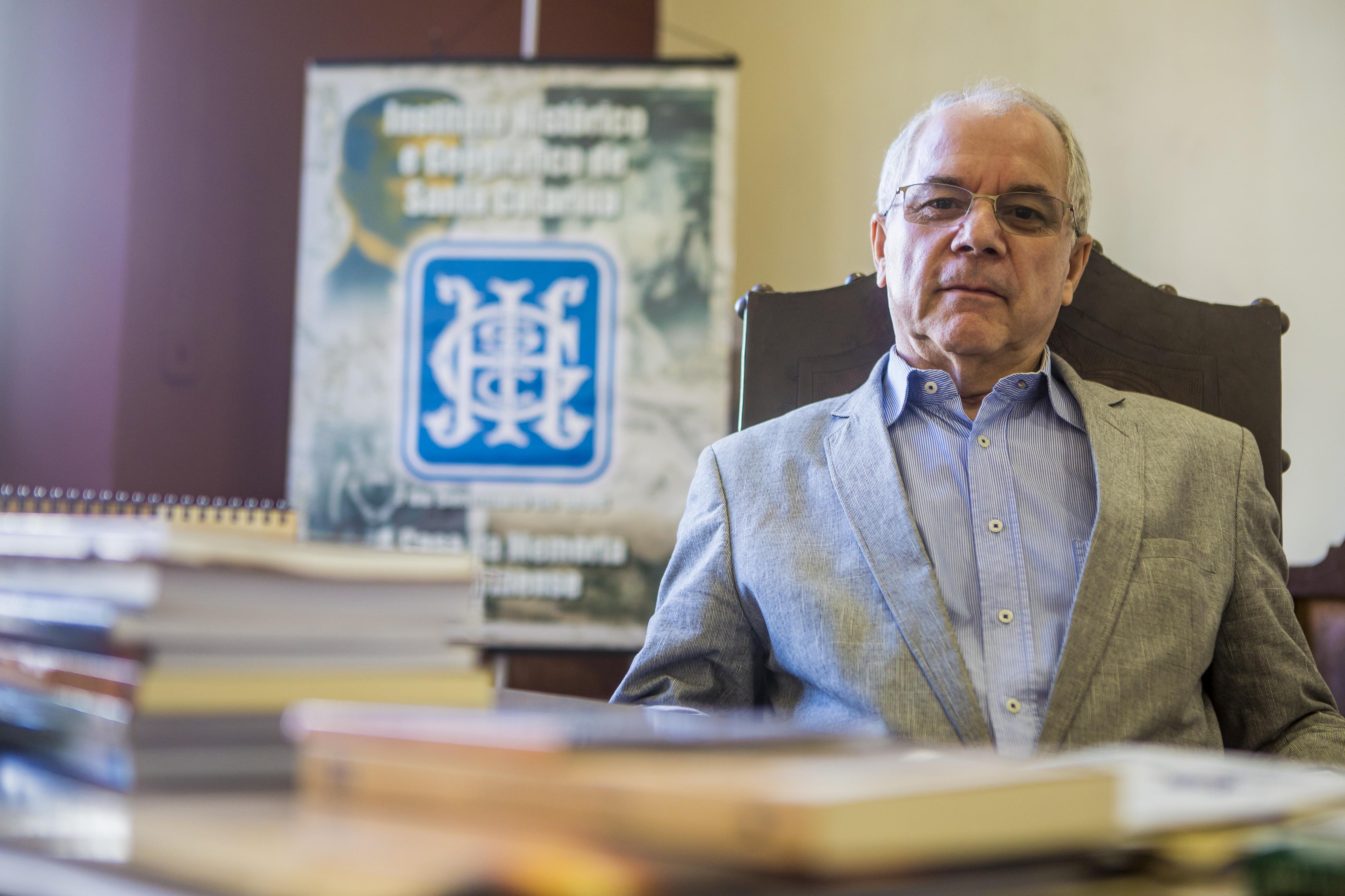 Presidente do instituto, Augusto César Zeferino, organizou a programação de aniversário - Flávio Tin/ND