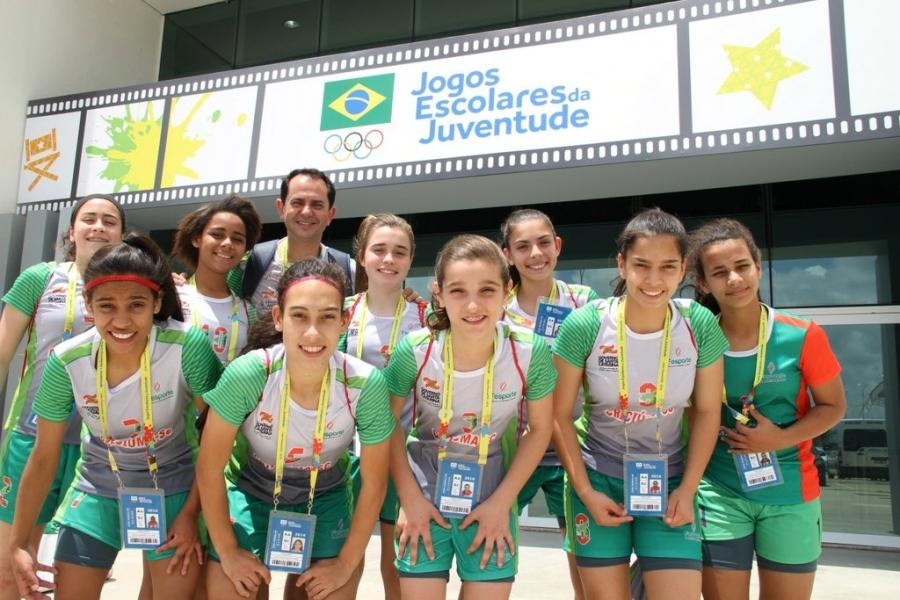 Meninas marcaram 15 gols e não sofreram nenhum em dois jogos - Antonio Prado/Divulgação Fesporte