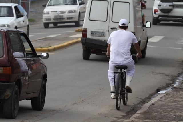 Joinville tem 146 quilômetros de extensão de ciclovias, mas muitos trechos da cidade não são assistidos - Luciano Moraes/arquivo/ND
