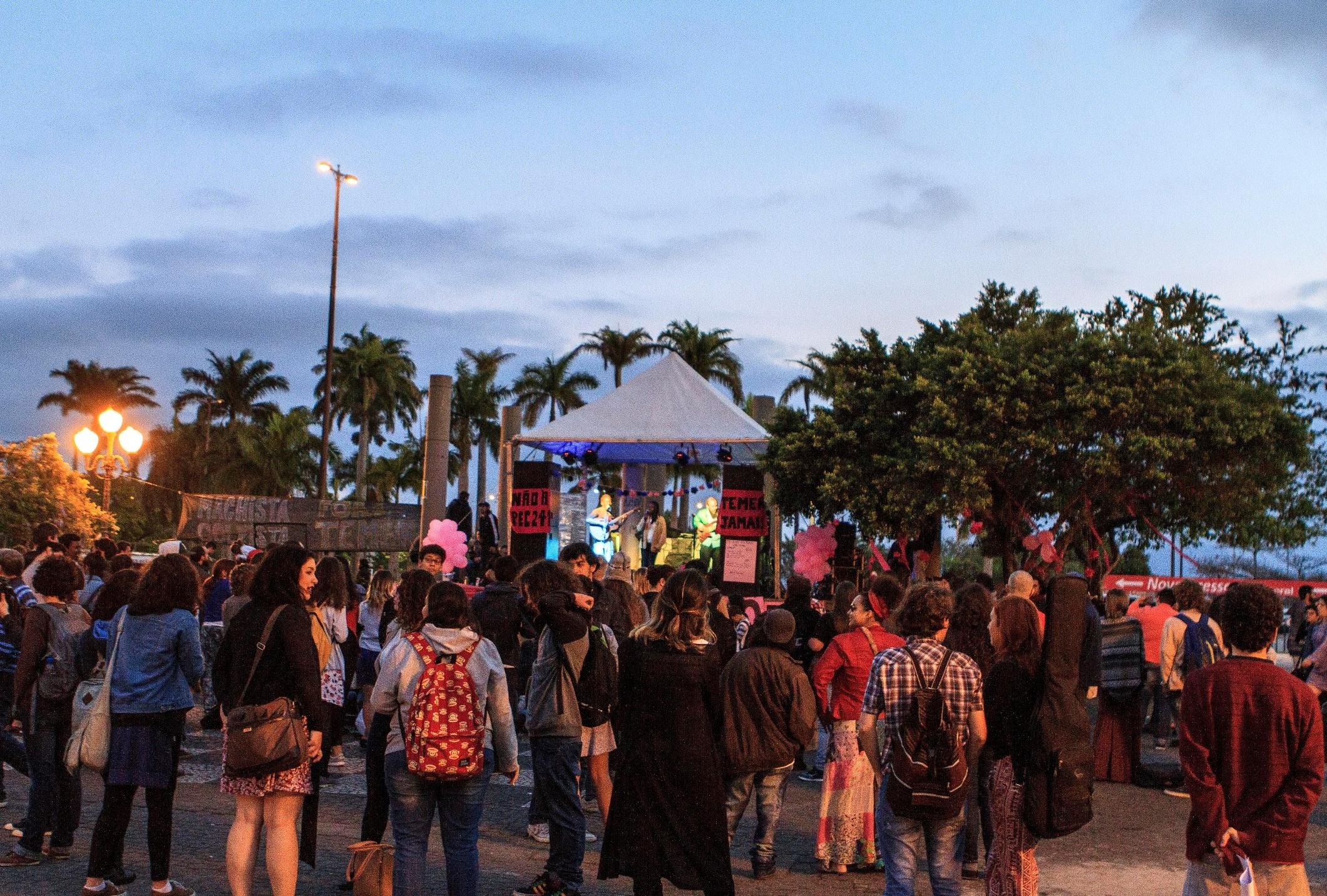 Evento teve shows e outras interações culturais - Bruno Ropelato/ND