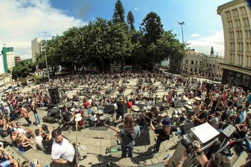 Orquestra de Bateria 2015 - Bruno Ropelato/Arquivo/ND