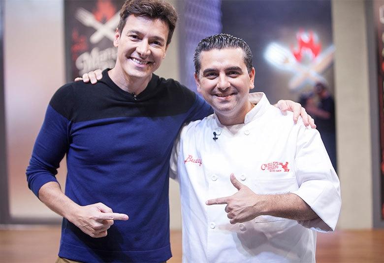 Buddy receberá Rodrigo Faro para a final do programa - Edu Moraes/Rede Record/Divulgação/ND