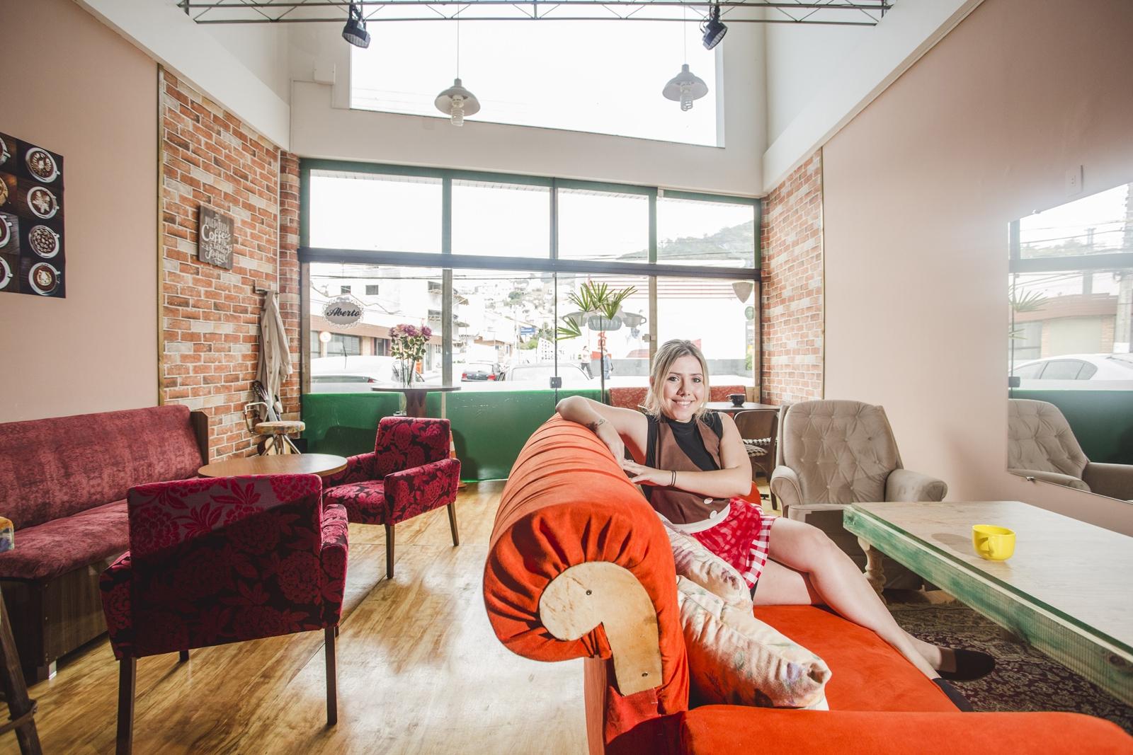 Ana Paula Tinti criou um café inspirado na sua série favorita - Daniel Queiroz/ND