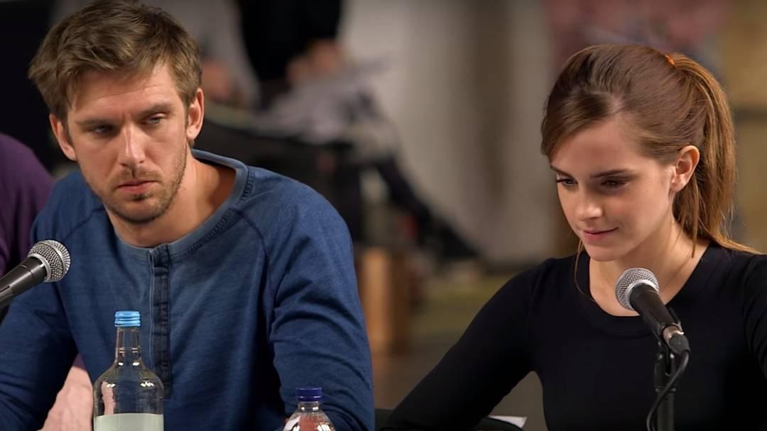 Dan Stevens e Emma Watson viverão a Fera e a Bela - Divulgação/ND