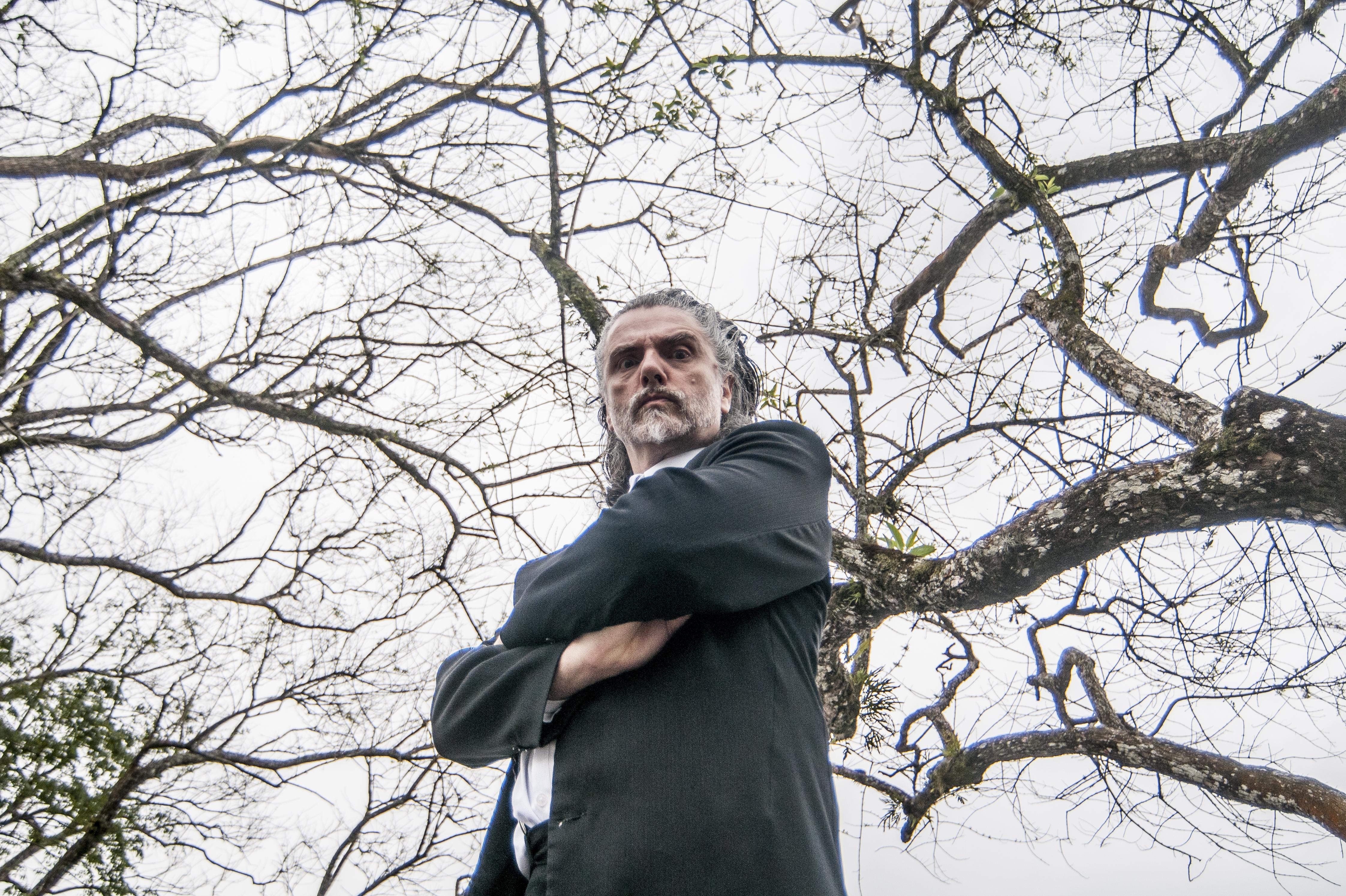 Personagem Kraunus Sang retorna em novo espetáculo - Eduardo Valente/ND