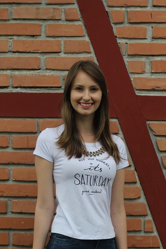 Luana Anesi Ferreira, 21 anos, estudante de arquitetura e urbanismo - Fabrício Porto/ND