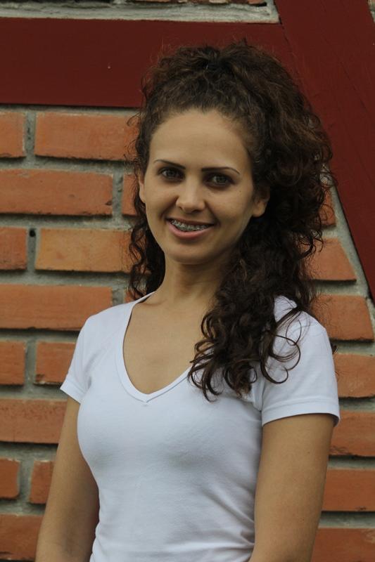 Alessandra Aní Delfino, 29 anos, estudante de nutrição - Fabrício Porto/ND
