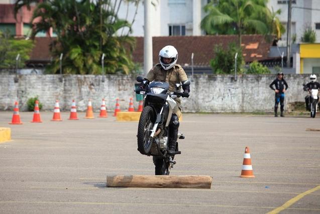 Participaram das atividades esta semana em Joinville 29 policiais militares - Carlos Junior/ND