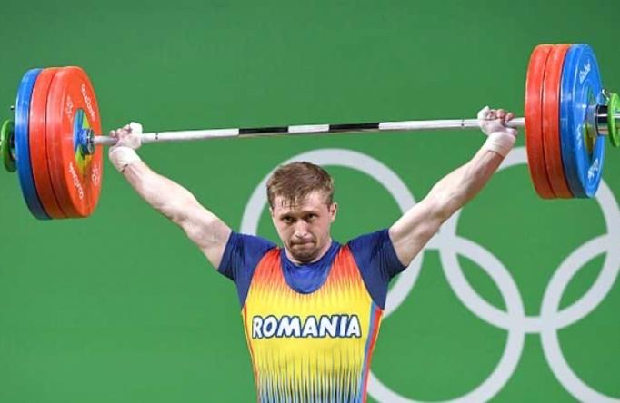 Romeno Gabriel Sîncrăian faturou a medalha de bronze na categoria até 85kg nos Jogos do Rio(Foto: AFP PHOTO) -