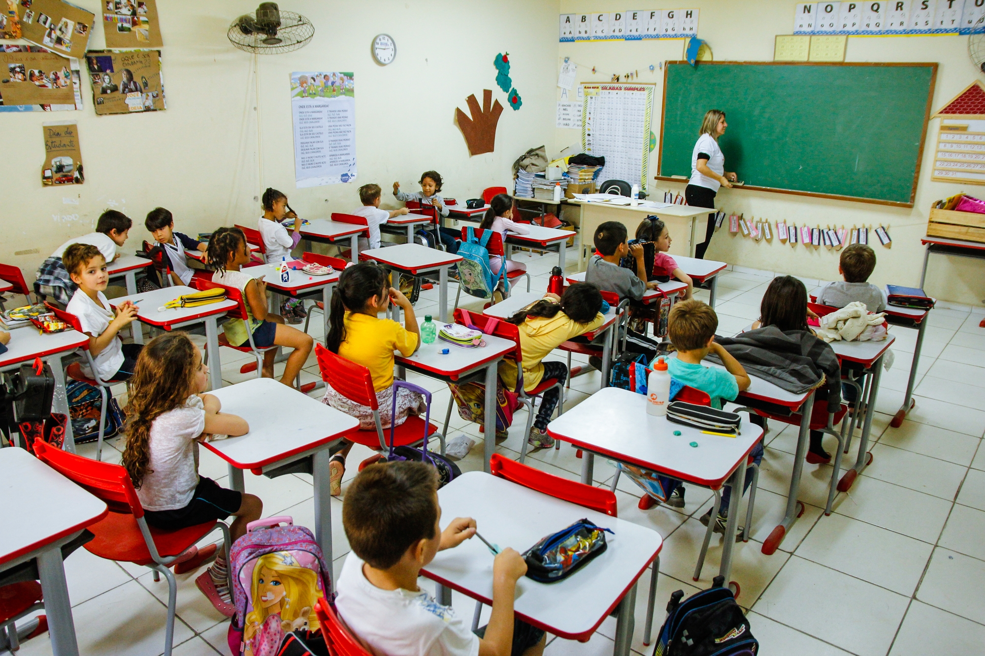 Período de rematrículas vai até o dia 17 de outubro - Daniel Oliveira/Secom/PMSJ/Divulgação/ND