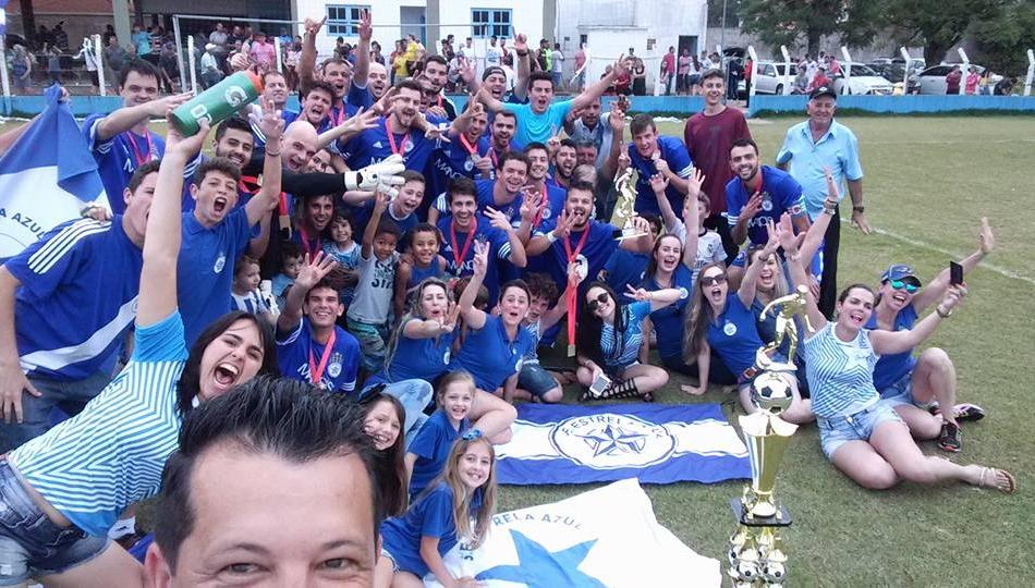 Estrela Azul fez a festa em seus domínios - Divulgação/ND