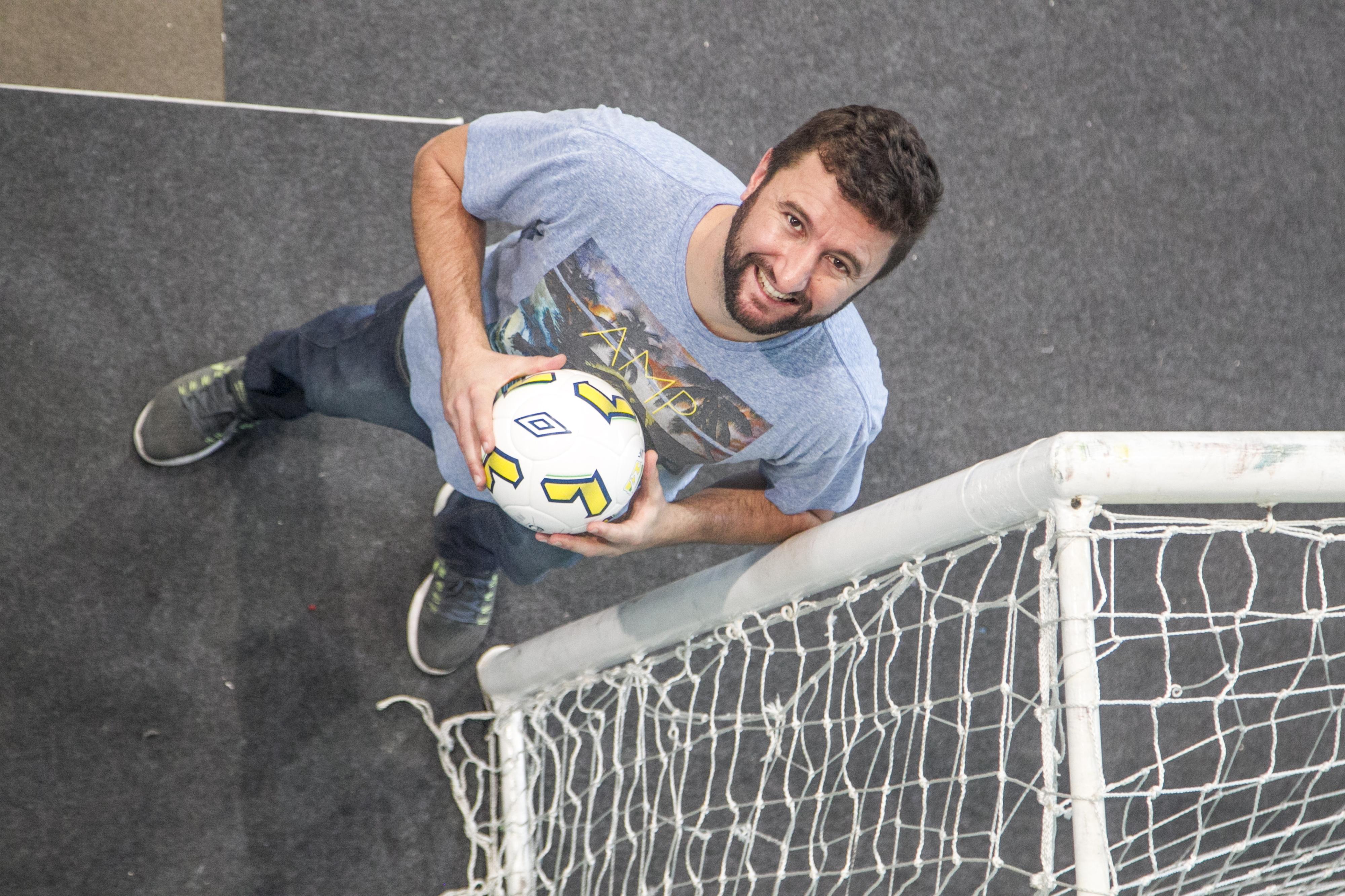 Antônio Mafra foi jogador e capitão do Floripa Futsal - Marco Santiago/ND