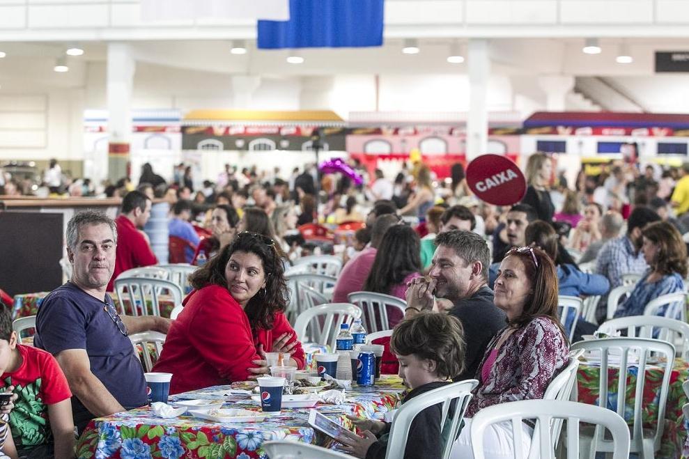 Festa termina na quarta-feira - Fábio Gadotti/ND
