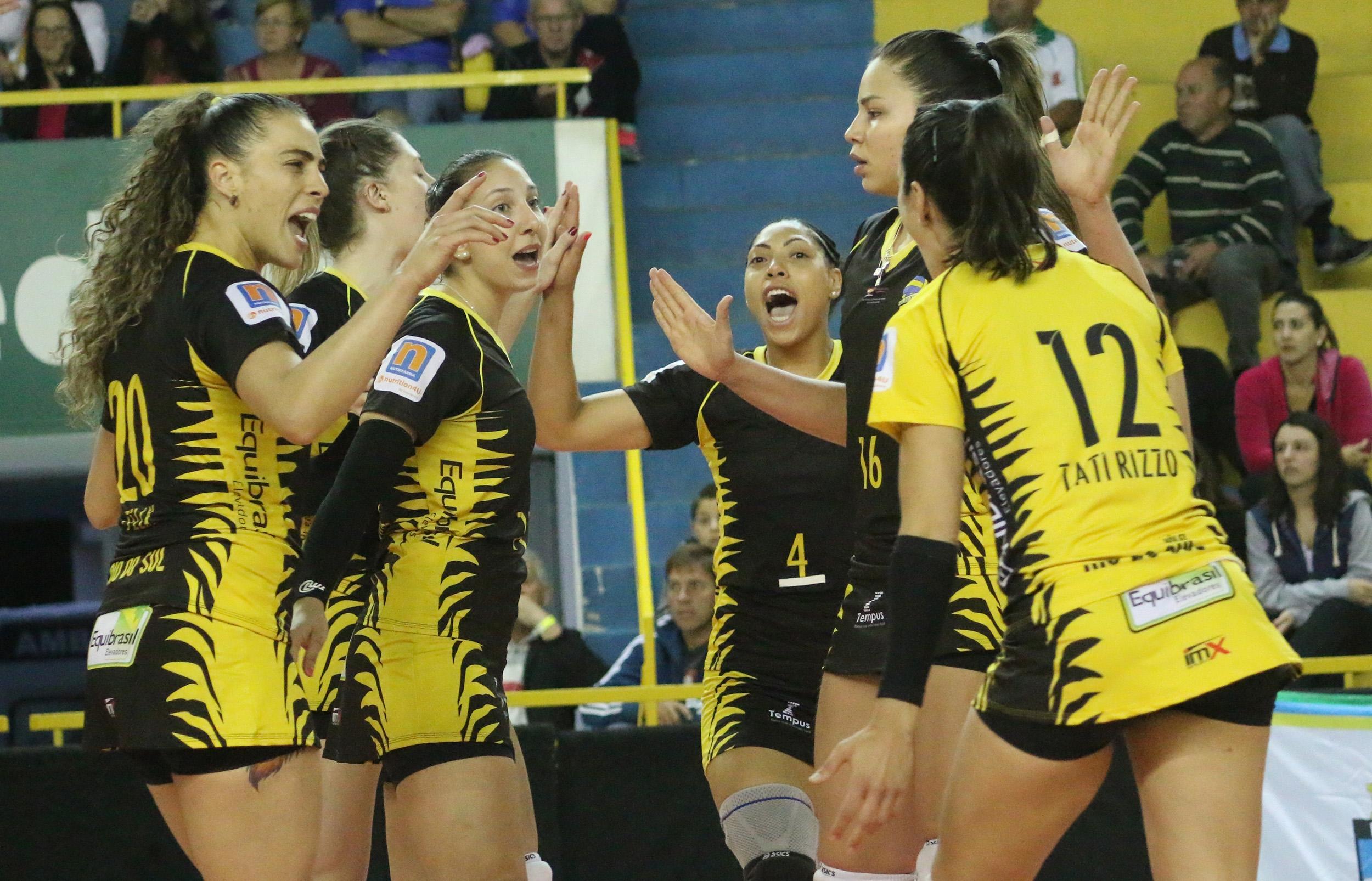 Rio do Sul é o único time catarinense na Superliga Feminina - Clóvis Eduardo Cuco/Vôlei Rio do Sul
