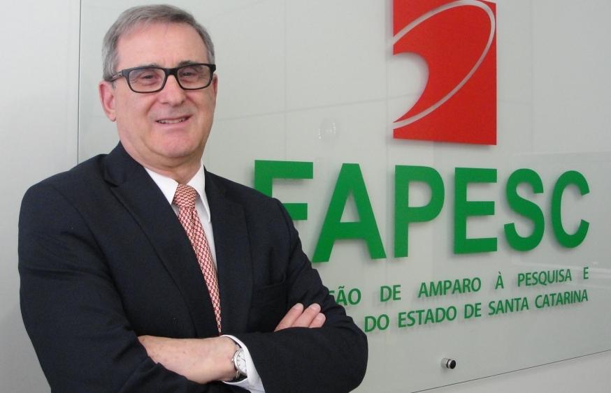 O engenheiro Sergio Luiz Gargioni, que é presidente da Fapesc, está na reta final do mandato como presidente da entidade que congrega as fundações estaduais de pesquisa no país, o Confap - Divulgação/ND