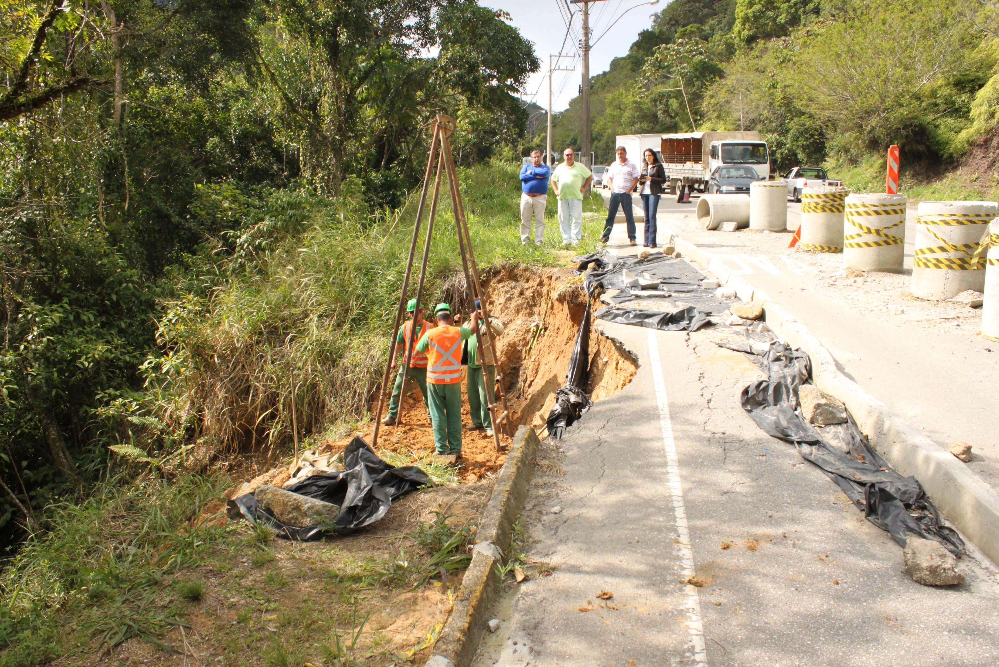 Prefeitura de Porto Belo bancou estudo para a recuperação da pista - Divulgação/PMPB/ND