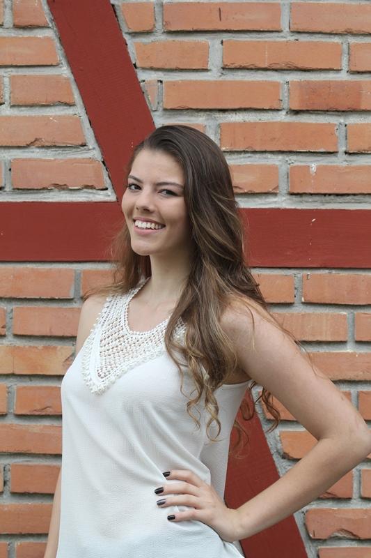 Franciele Mafezolli, 19 anos, estudante de análise de sistemas - Fabrício Porto/ND