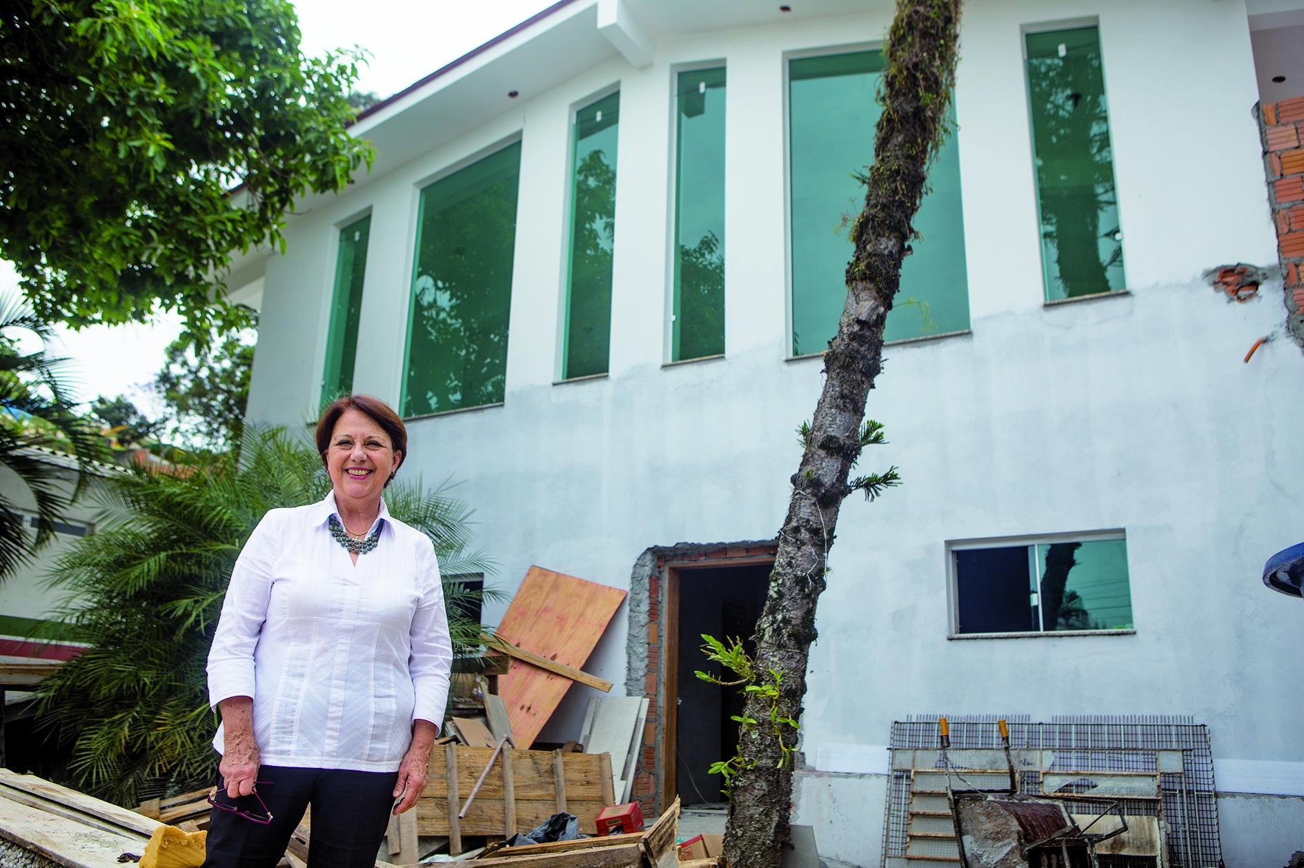 Leila Pivatto preside a Associação de Proteção e Assistência ao Condenado - Flávio Tin/ND