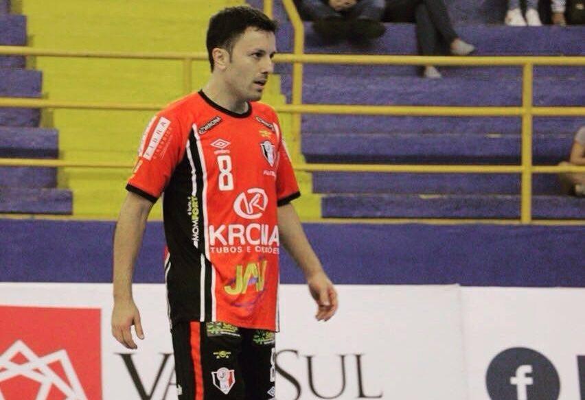 Leco é um dos destaques do JEC/Krona, que busca vaga nas semifinais da Liga - Yuri Gomes/Divulgação/ND