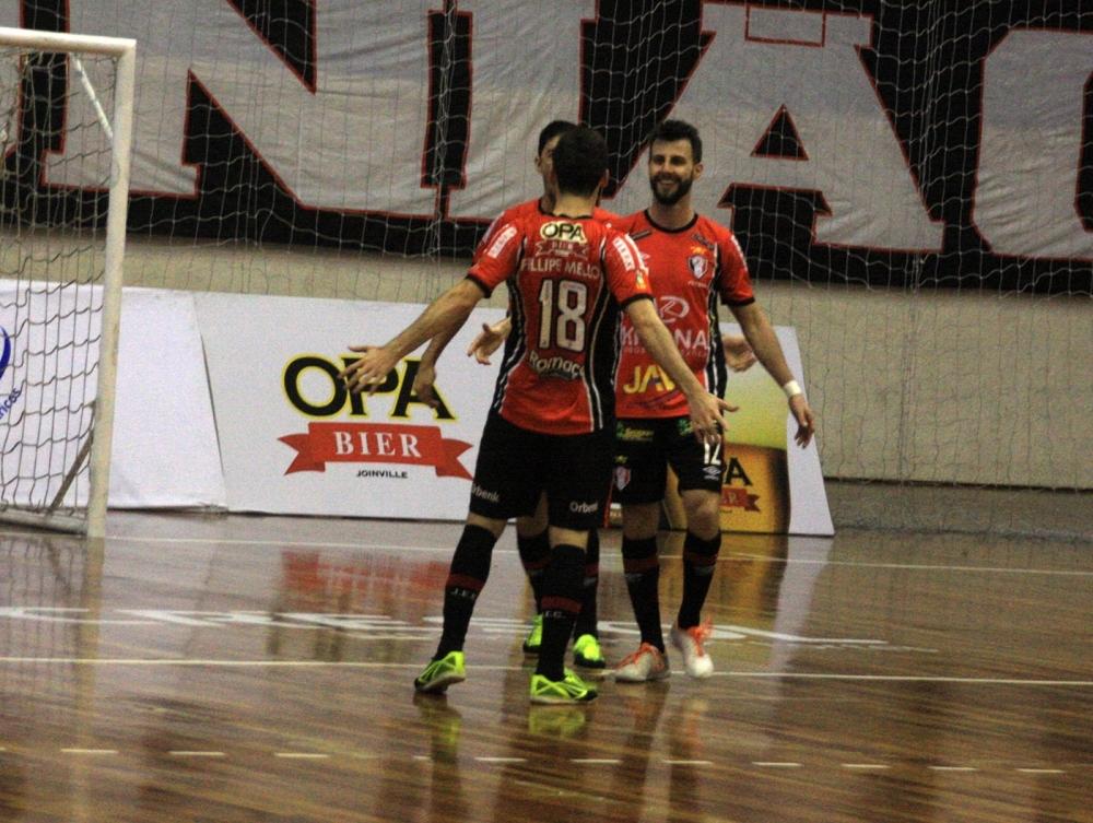 JEC/Krona venceu o Mafra por 3x2 neste domingo - Divulgação/ND