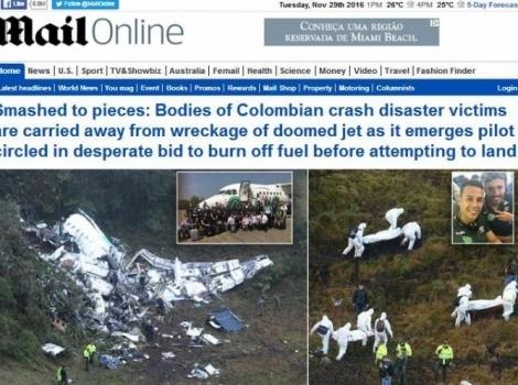 Daily Mail - Inglaterra  -  (Foto: Reprodução)
