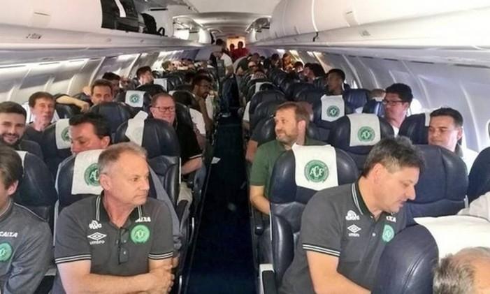 Equipe viajava à Colômbia para disputar o primeiro jogo da final da Copa Sul-Americana - Divulgação