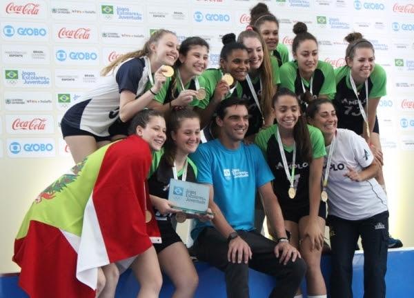 Delegação catarinense comemora recorde de medalhas nos Jogos Escolares - Lucas Inácio/Fesporte