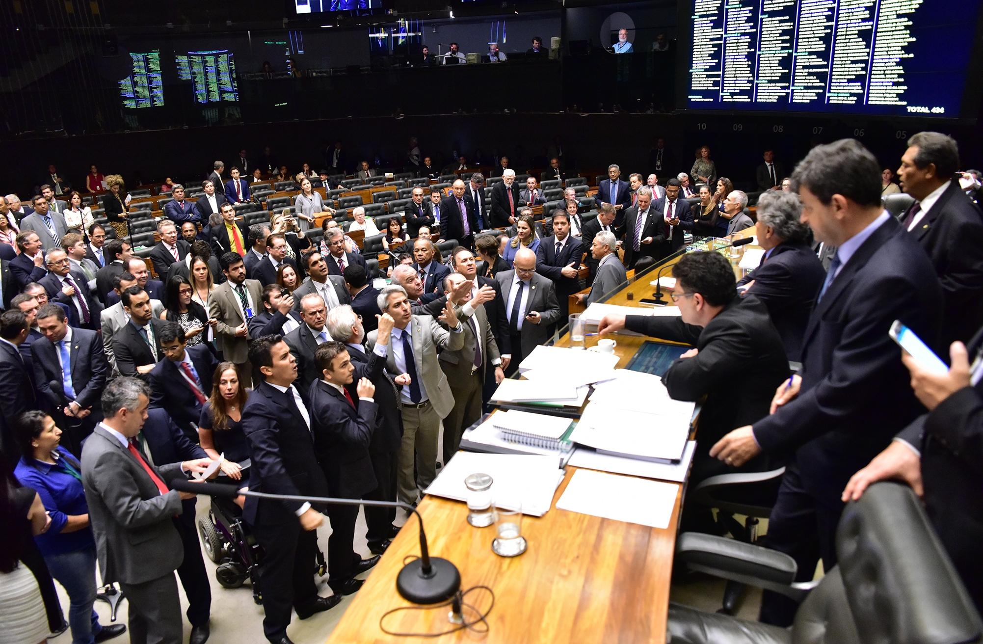 Houve embate entre os deputados - Zeca Ribeiro/Câmara dos Deputados/ND