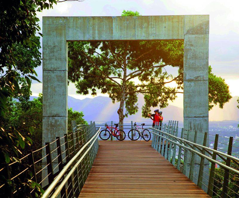 Janela de contemplação do Morro da Boa Vista – Foto: Lino Sasse/Divulgação/ND