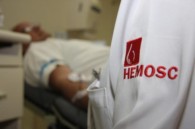 Hemosc mantém estoque adequado nas sete unidades regionais do Estado – James Tavares/Secom