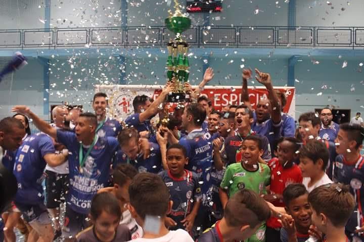 Floripa voltou a conquistar o título catarinense depois de nove anos - Murilo Wolff